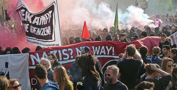 مظاهرات الأول من أيار في برلين