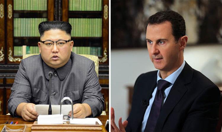 رسالة من الديكتاتور الكوري الشمالي إلى الديكتاتور السوري