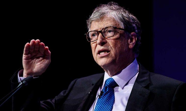 الملياردير الأمريكي ومؤسس شركة مايكروسوفت بيل غيتس