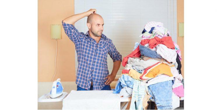 كوي الملابس بدون مكواة