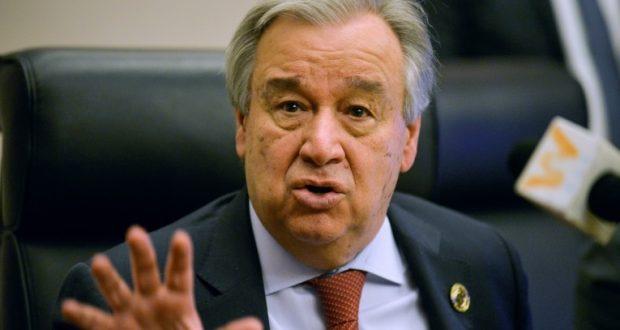 الأمين العام للأمم المتحدة أنطونيو غوتيريش يدين تفاقم مشاعر الحقد وكراهية الأجانب خلال أزمة كورونا