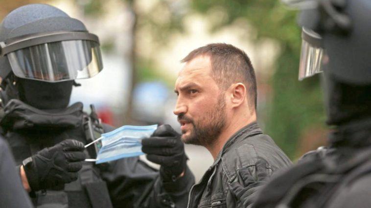 الاعتداء بالضرب على شرطيين ألمانيين