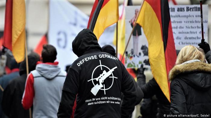 حملة ضد اليمين المتطرف في ألمانيا