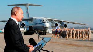 بوتين يرسل طائرات مقاتلة لدعم المرتزقة الروس في ليبيا