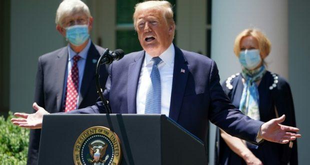 ترامب يتناول عقار هيدروكسي كلوروكين المضاد للملاريا على سبيل الوقاية من فيروس كورونا