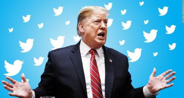 تويتر يتهم ترامب بنشر معلومات كاذبة لا أساس لها من الصحة