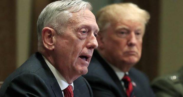 وزير الدفاع الأميركي السابق جيم ماتيس بالسعي إلى تقسيم الولايات المتحدة