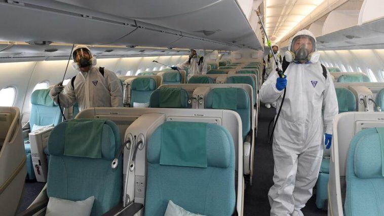 إرشادات منظمة الطيران المدني الدولي لضمان سلامة الركاب على متن الطائرات وفي المطارات في زمن كورونا