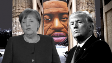 العلاقات بين ألمانيا وترامب