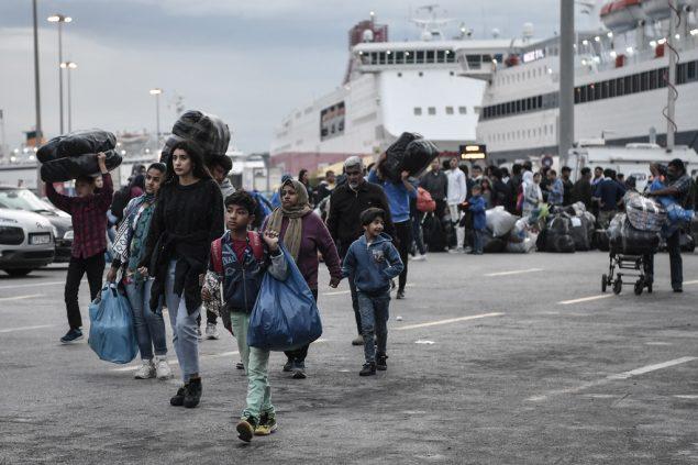اللاجئون في أثينا