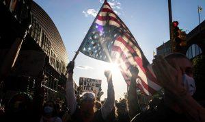 الاحتجاجات في أمريكا