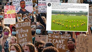 """أخبار ألمانيا: نادي بوروسيا الألماني يوجه رسالة قوية ضد العنصرية ويدعم حملة """"بلاك لايفز ماتر"""""""