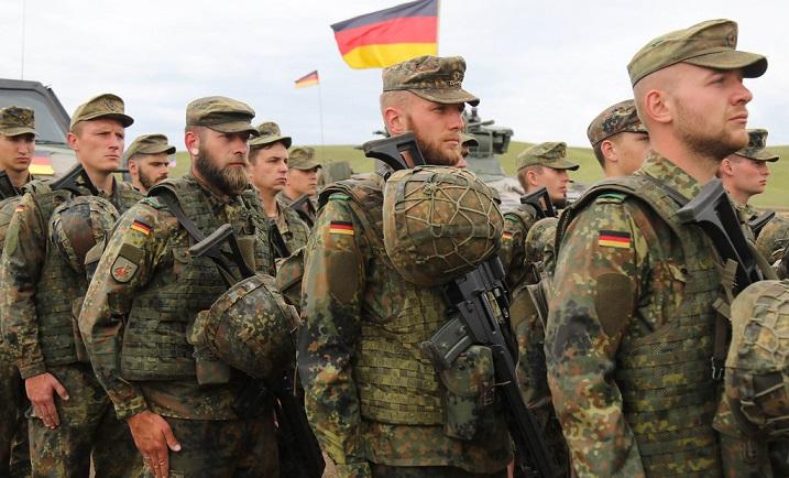التطوع في صفوف الجيش الألماني