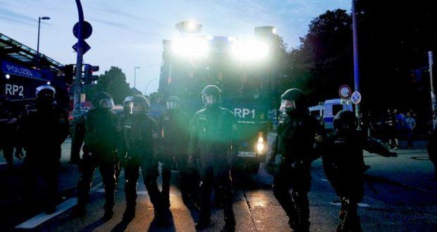 أخبار ألمانيا: أعمال شغب عنيفة في مدينة فرانكفورت