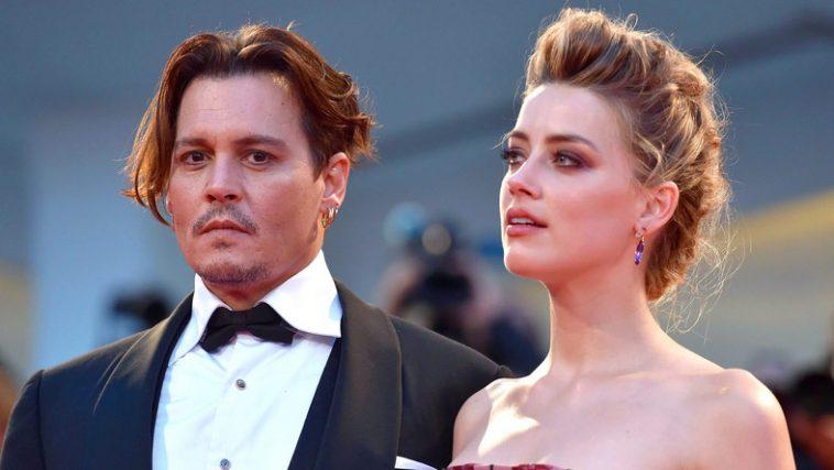 الممثل الشهير جوني ديب وزوجته السابقة أمبير هيرد