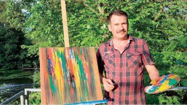 الفنان السوري أحمد كرنو