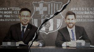 مشاكل نادي برشلونة