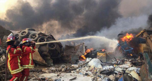 انفجار بيروت إعلان بيروت مدينة منكوبة
