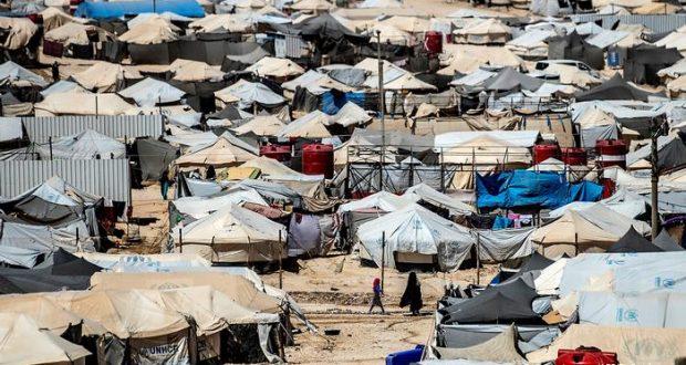 وفاة ثمانية أطفال جوعاً في مخيم الهول في سوريا