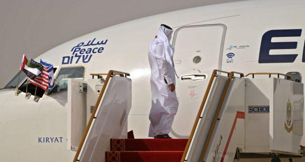 وصول أول طائرة إسرائيلية إلى الإمارات بعد اتفاقية التطبيع مع الاحتلال