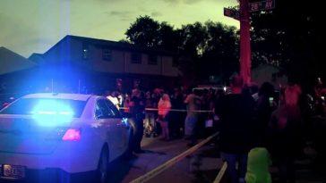إطلاق الشرطة النار على رجل أسود