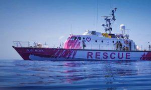 يخت لإنقاذ اللاجئين