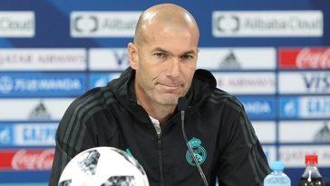 زين الدين زيدان مدرب ريال مدريد
