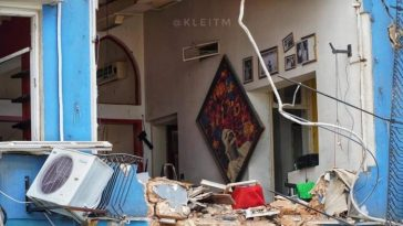 بيروت بعد الانفجار تصوير محمد قليط