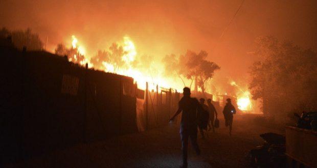 إخلاء أكبر مخيم للاجئين في اليونان وسائر أوروبا