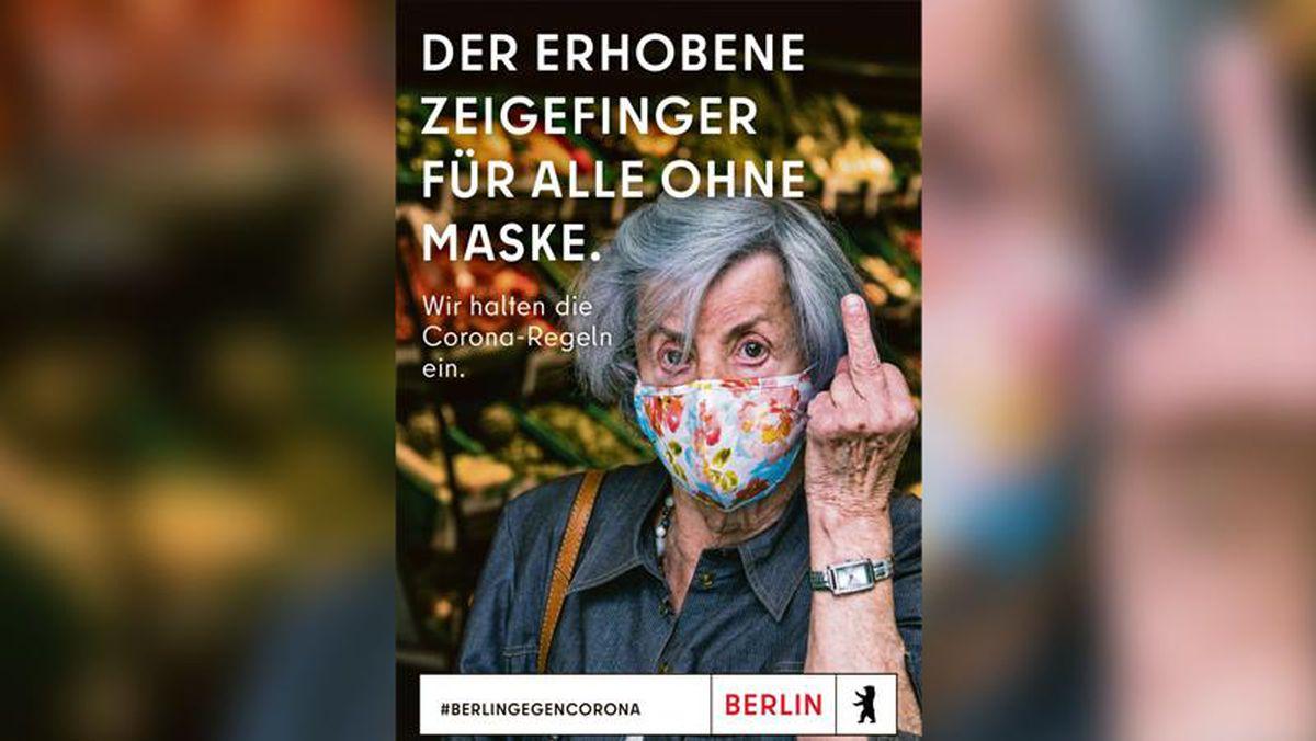 إعلان الحملة التوعية لمخاطر كورونا وضرورة ارتداء الكمامات في برلين