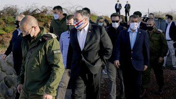 ترامب يرسل وزير خارجيته إلى الجولان السوري المحتل