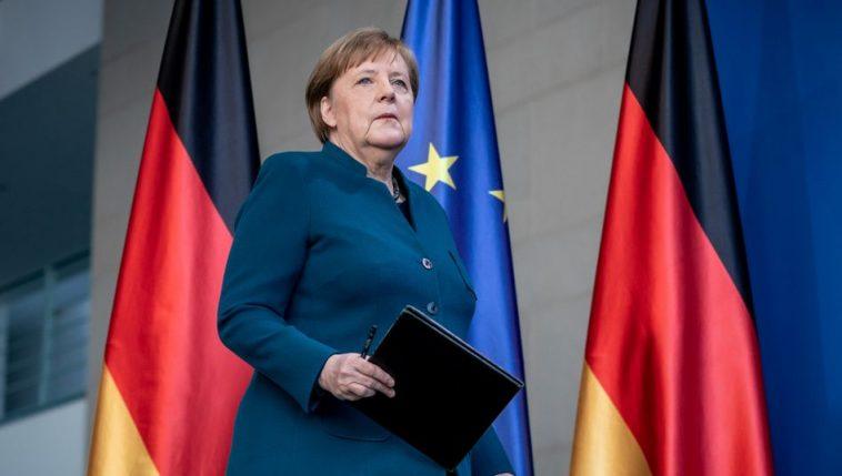 بيان المستشارة الألمانية أنغيلا ميركل بشأن نتائج الانتخابات الرئاسية الأمريكية