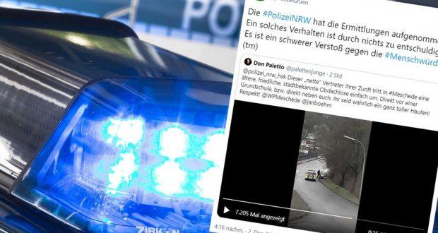أخبار ألمانيا: شرطي ألماني يعتدي على سيدة مسنة ويسقطها أرضاً