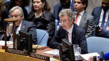 مواجهة كلامية حادة حول سوريا بين ألمانيا وروسيا والصين في مجلس الأمن الدولي