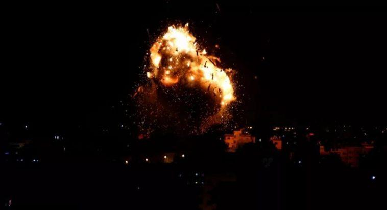 غارات إسرائيلة على سوريا اليوم