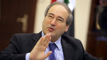 الاتحاد الأوروبي يفرض عقوبات على وزير خارجية النظام السوري فيصل المقداد