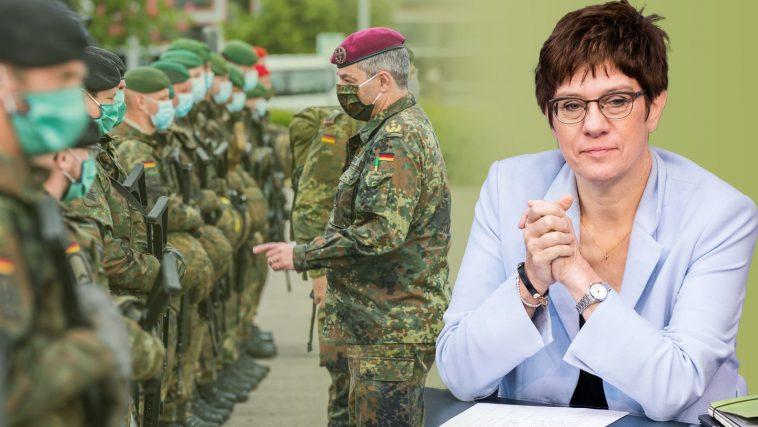 الجيش الألماني: 10 آلاف جندي على أهبة الاستعداد للمساعدة في اختبارات كورونا