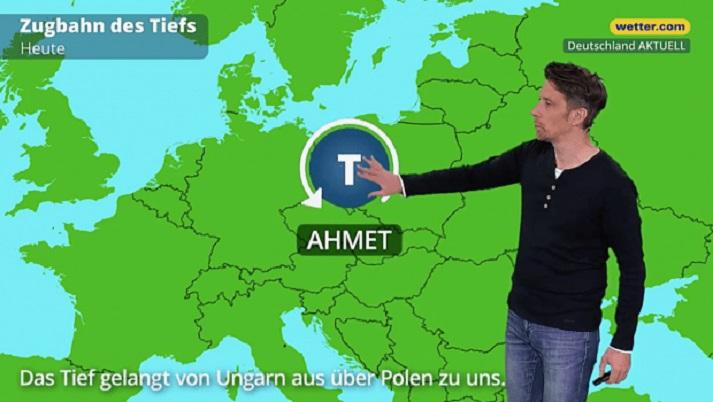 أسماء عربية للظواهر المناخية المقبلة في ألمانيا