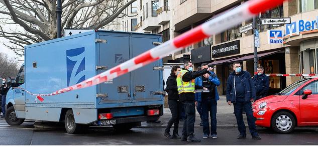 سرقة شاحنة نقل أموال في برلين في وضح النهار