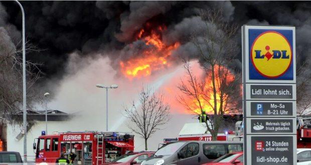 انفجار ليدل في ألمانيا