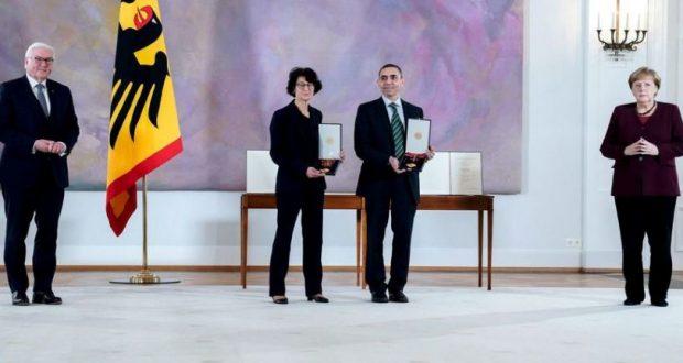 ألمانيا: تكريم مؤسسي بيونتك بأرفع أوسمة الاستحقاق لدورهما في تطوير لقاح كورونا