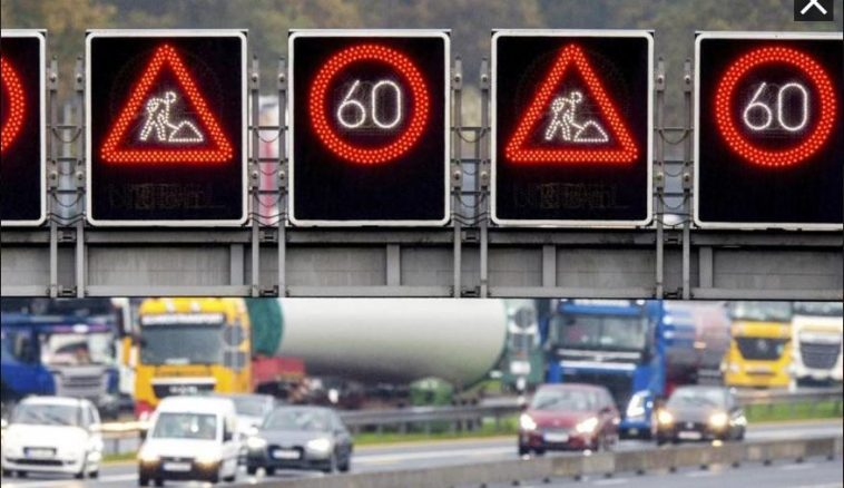 إغلاق عدة طرق سريعة واضطرابات في حركة المرور في ألمانيا