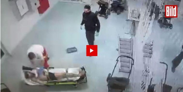 ألمانيا: فيديو مسرب يظهر اعتداء مسعف على لاجئ سوري أمام أعين الشرطة الألمانية