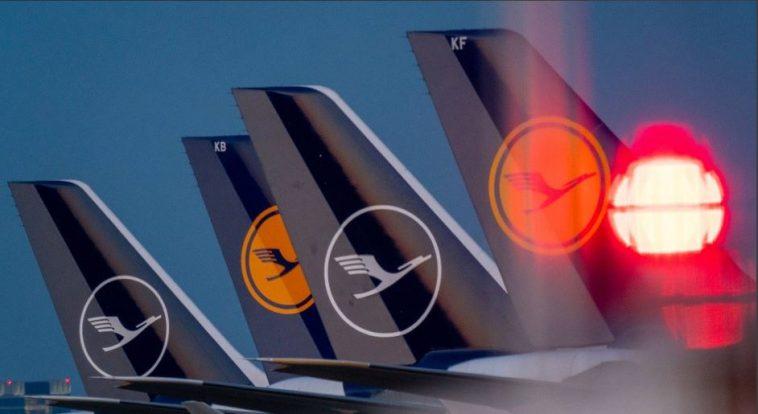 """شركة الطيران الألمانية """"لوفتهانزا"""" تسجل خسائر قياسية في 2020"""