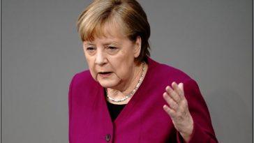 ألمانيا: ميركل تتحدث عن الإجراءات الإضافية لكسر الموجة الثالثة من انتشار كورونا