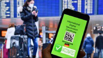 جواز السفر الأخضر الاتحاد الأوروبي
