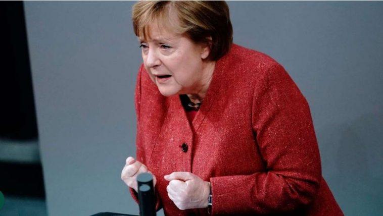 """ألمانيا: ميركل تدعو البرلمان إلى إقرار """"مكابح الطوارئ"""" وفرض حظر التجول"""