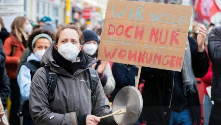ألمانيا: الآلاف يتظاهرون ضد ارتفاع الإيجارات في العاصمة الألمانية برلين