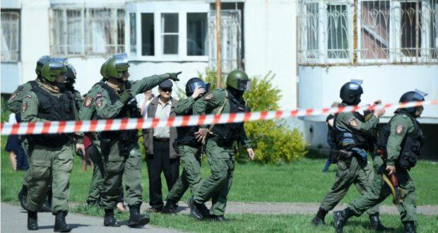إطلاق نار في مدرسة روسية