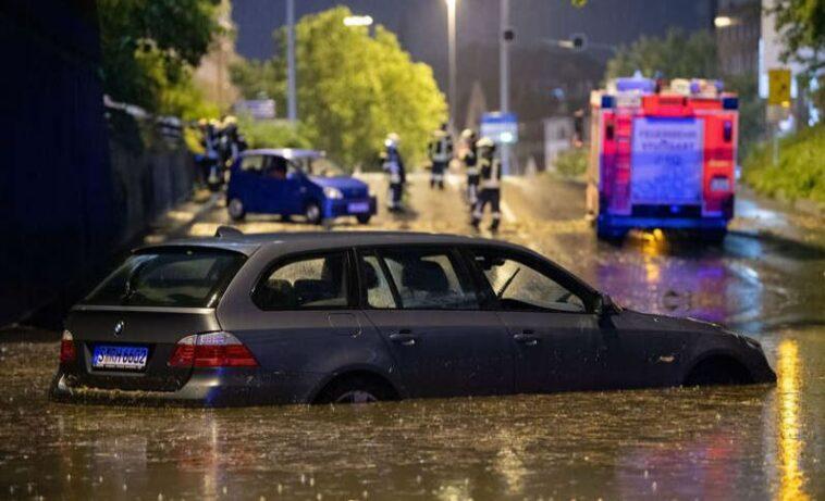عواصف قوية تضرب ألمانيا